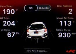 Honda пропонує водіям Civic Type R додаток з телематикою (відео)