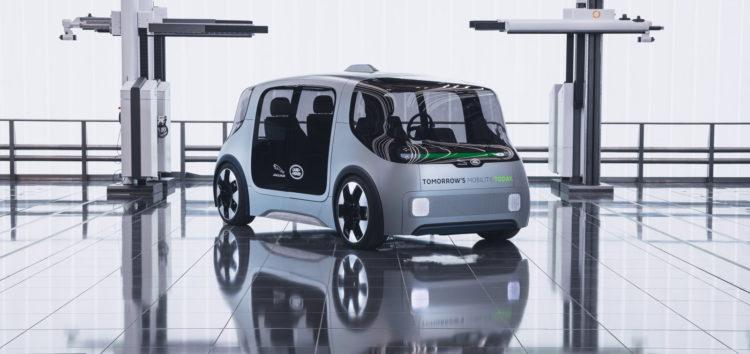 Jaguar Land Rover показав свій автономний EV