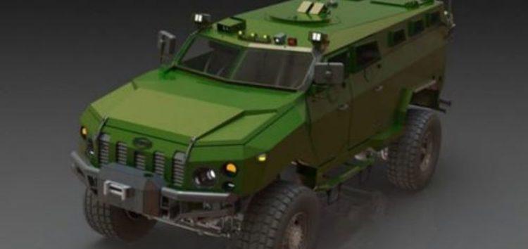 Новий український бронеавтомобіль