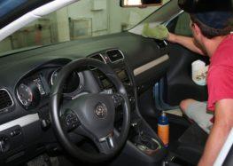 Правила уборки в автомобиле