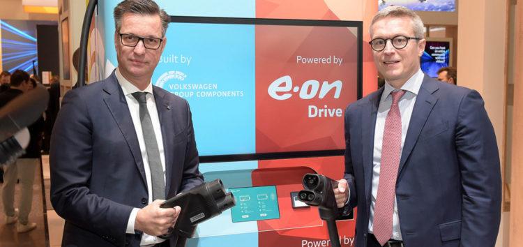 Volkswagen презентует новую концепцию электрозарядок