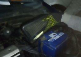 Заміна повітряного фільтра Profit1512 2303 на Hyundai Getz (відео)