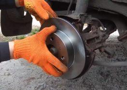 Заміна гальмівних дисків Q fix Q091 0772 на Nissan Primera P10 (відео)