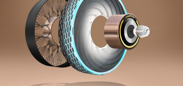 Концепт-шина Goodyear відновлює протектор