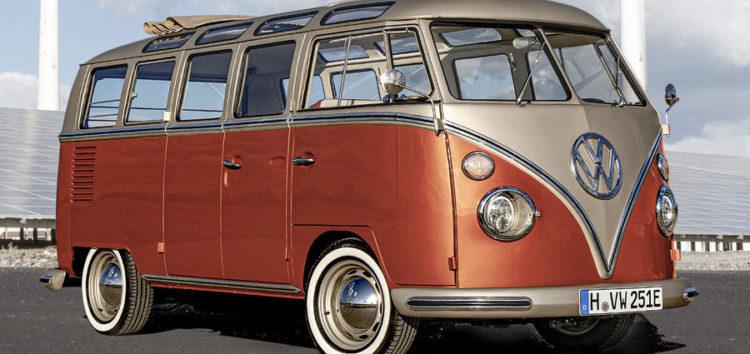 Volkswagen електрифікує класичний Т2