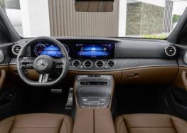 Новый E-Class знает, когда вы держитесь за руль