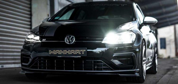 VW Golf R прокачали до 450 «конячок» в ательє Manhart