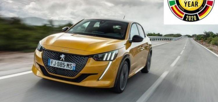 Peugeot 208 став «автомобілем року 2020»