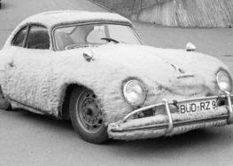 У Порше был пушистый автомобиль