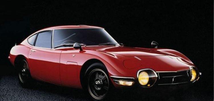 Перший японський спорткар: Toyota 2000GT