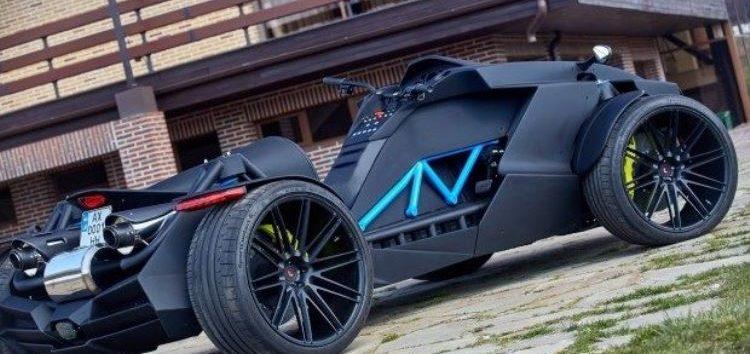 Харків'яни побудували свою версію бетмен-квадроцикла
