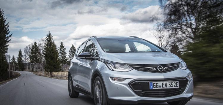 Перші електромобілі Opel