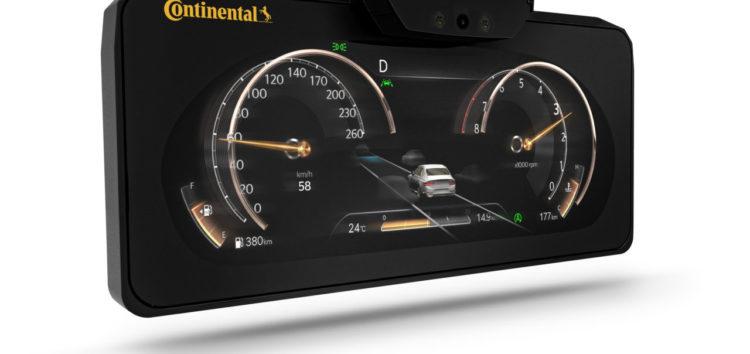 Continental впровадить 3D-дисплеї в серійні авто
