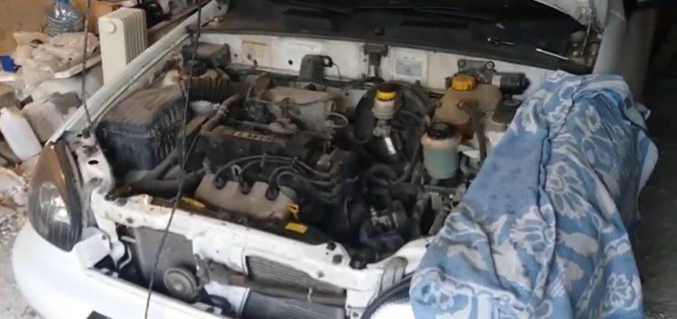 Заміна сальника штока куліси КПП General Motors 90129204 на Daewoo Lanos (відео)