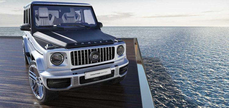 Тюнеры сделали яхту из Mercedes-AMG G 63