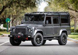 Електричний Land Rover Defender – «до сотні» за 5,5 секунд (відео)