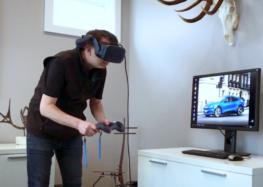 Ford розробляє дизайн машин через VR