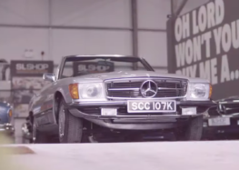 Mercedes-Benz SL превратили в электромобиль (видео)