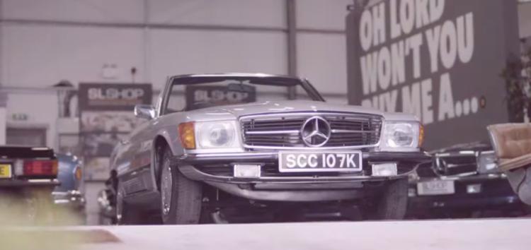 Mercedes-Benz SL перетворили в електромобіль (відео)