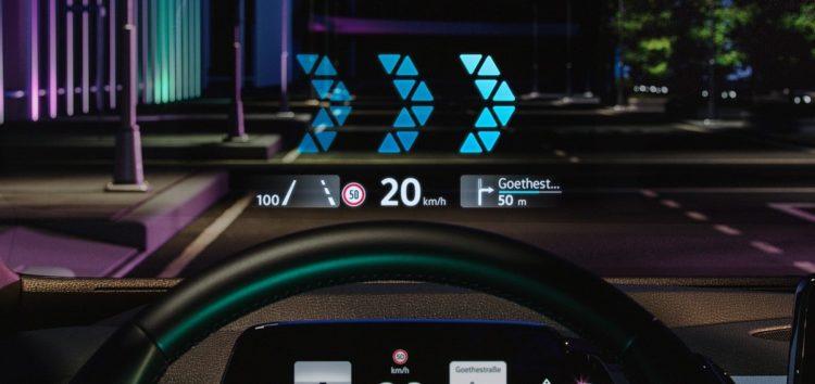 VW використовує в ID.3 AR-дисплей