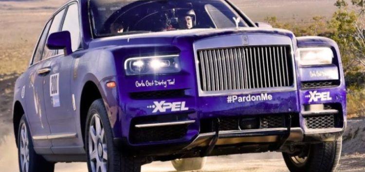 Кросовер Rolls-Royce – учасник піщаного ралі (відео)