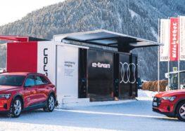 Audi пропонує контейнерну зарядку електромобілів