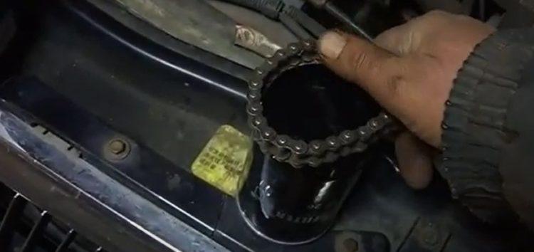 Заміна масляного фільтра M-Filter tf26 на Chery Amulet (відео)