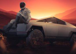 Tesla Cybertruck відправили на Марс (відео)