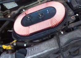 Заміна повітряного фільтра WIX WA6303 на Nissan Primera P10 (відео)