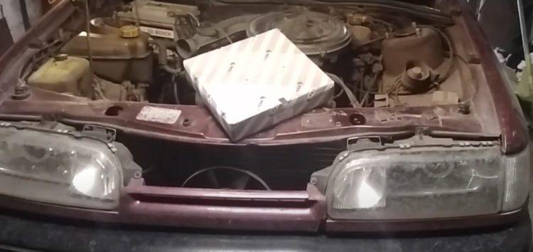 Заміна повітряного фільтра Profit 1511-0401 на Ford Scorpio (відео)
