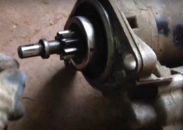 Заміна втулки стартера Febi 02181 на Volkswagen Golf III (відео)