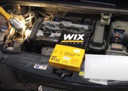Заміна фільтра салону WIX WP9112 на Peugeot 307 (відео)
