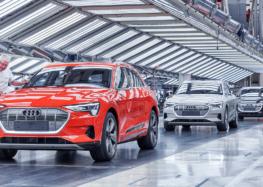 Як збирають Audi e-tron (відео)