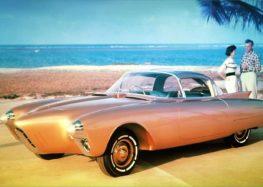 Oldsmobile Golden Rocket – концепт Jet Age