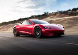 Tesla Roadster зможе розігнатись до сотні за 1,1 секунди (відео)