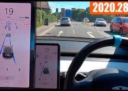 Автопилот Tesla проверили на сложных дорогах (видео)