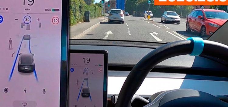 Автопілот Tesla перевірили на складних дорогах (відео)