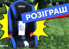НОВЫЙ РОЗЫГРЫШ — детское автокресло SPARСO! (Видео)