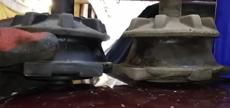 Заміна сайлентблока задньої балки SWAG 50 79 0005 на Ford Scorpio (відео)