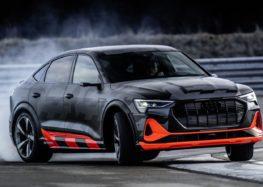 Audi e-tron S з трьома моторами показали на треку (відео)