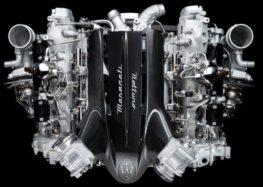 Maserati снова выпускает  двигатель V6
