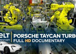 В середине фабрики Porsche Taycan (видео)