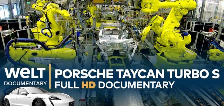 В середині фабрики Porsche Taycan (відео)