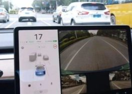 Бічні камери Tesla покажуть «сліпі зони»