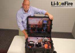 Система безпеки для батарей електрокарів Li-IonFire