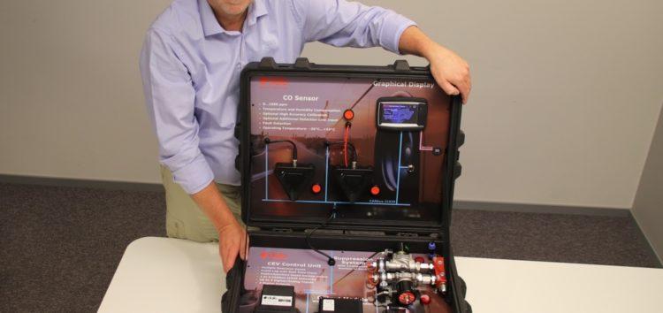 Система безопасности для батарей электрокаров Li-IonFire