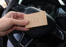 Господарське мило в вашому автомобілі