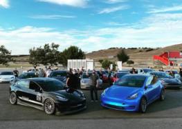 Модифицированная Tesla бьет рекорды (видео)