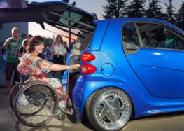Первый украинский электромобиль для людей с инвалидностью