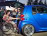 Перший український електромобіль для людей з інвалідністю